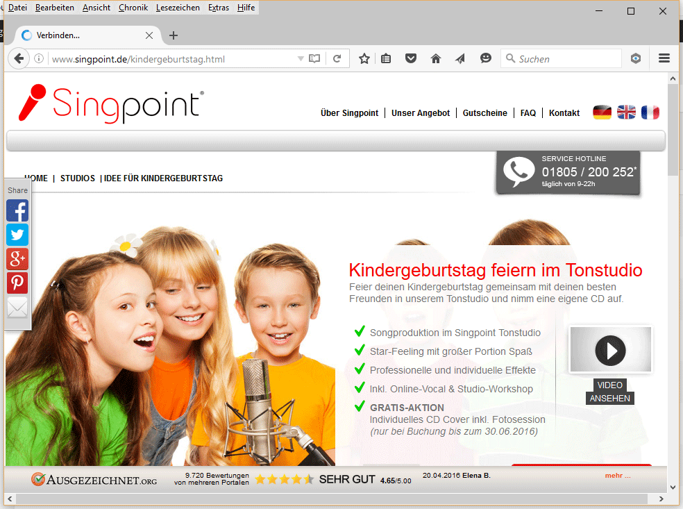 singpoint hannover kindergeburtstag hannover. Black Bedroom Furniture Sets. Home Design Ideas